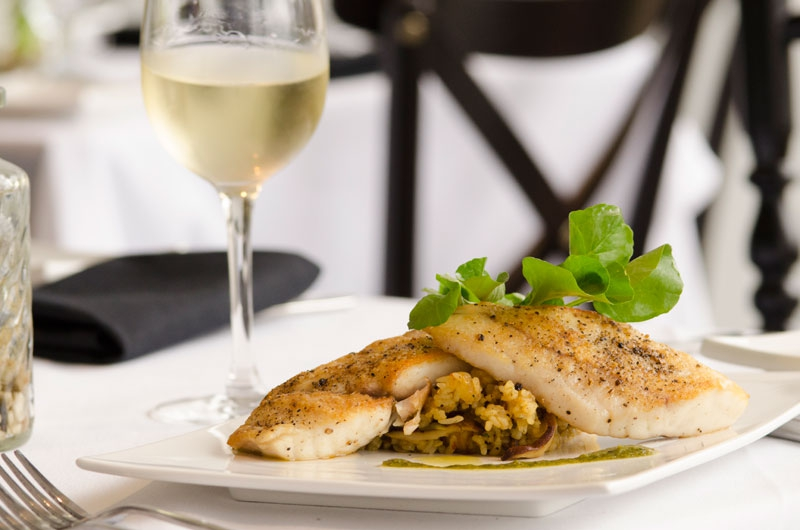 LA Gulf Snapper with Jazzmen Fried Rice by Dominique's on Magazine