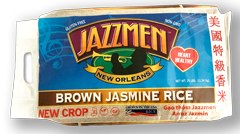 Jazzmen Aromatic 25lb Brown Rice