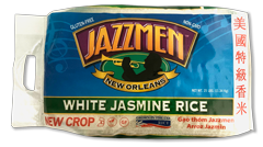 Jazzmen Aromatic 25lb White Rice